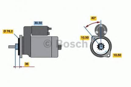 Стартер Bosch 0986013050