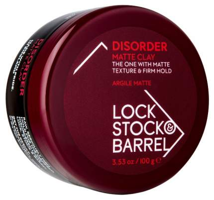 Средство для укладки волос Lock Stock & Barrel Disorder Ultra Matte Clay 100 г