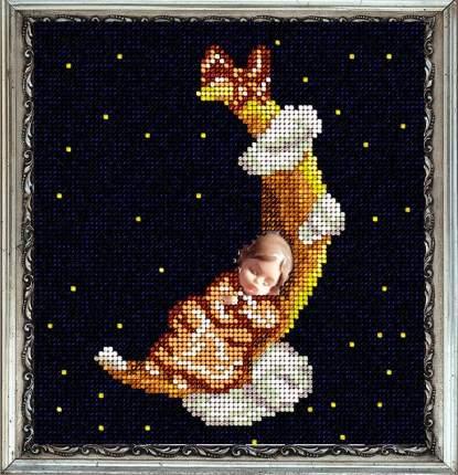 Набор Вышивание ювелирным бисером Краса и творчество 20614 Цветочные сны она 14,5х15,7 см