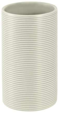 Стакан для зубных щеток Spirella Tube Ribbed Серый