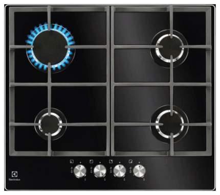 Встраиваемая варочная панель газовая Electrolux GPE263YK Black