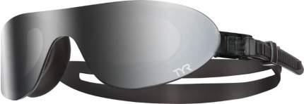 Очки-полумаска для плавания TYR Shades Mirrored 075 grey
