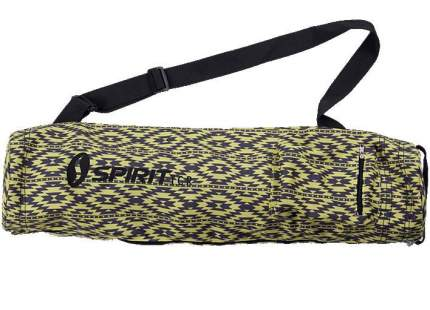 Сумка для йога-коврика Spirit Fitness C-03 желтая