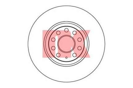 Тормозной диск Nk 2047115