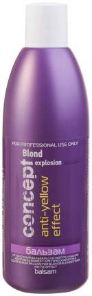 Бальзам для волос Concept Blond Explosion Anti-Yellow Effect 300 мл