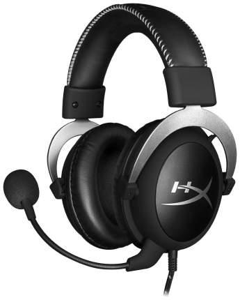 Игровые наушники Kingston HyperX Cloud Silver Pro Silver/Black
