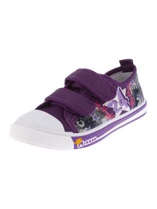 Кеды М.МИЧИ Star, цвет: фиолетовый, размер: 28