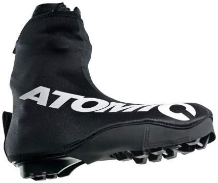 Чехлы на лыжные ботинки Atomic WC Skate Overboot 2016 черные, размер 9