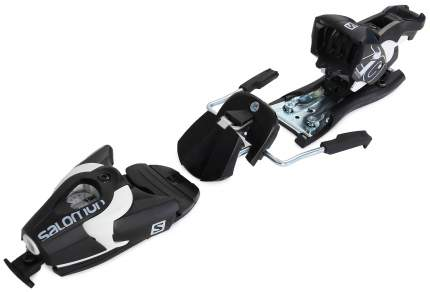 Крепления горнолыжные Salomon Bindings N Z10 2017, белые/черные, 80 мм