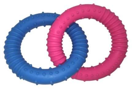 Игрушка для собак HOMEPET Два кольца с шипами TPR 13 см