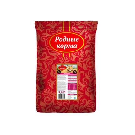 Сухой корм для кошек Родные корма, мясное рагу, 10кг