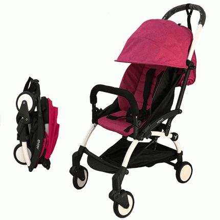 Прогулочная коляска Yoya 175 розовый меланж