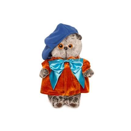 Мягкая игрушка BUDI BASA Кот Басик художник, 25 см