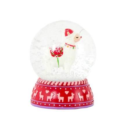 "Снежный шар ""Лама"", 8,5 см"
