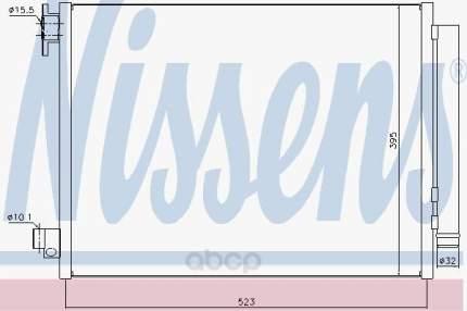 Радиатор кондиционера Nissens 940321