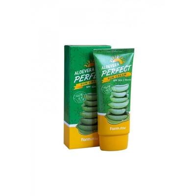Крем для лица и тела солнцезащитный  FarmStay ALOEVERA Perfect Sun Cream 70гр
