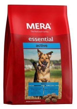 Сухой корм для собак MERA Essential Active, для активных, мясо, 12,5кг