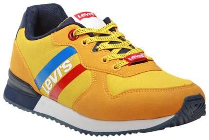 Кроссовки Levi's Kids yellow navy 37 размер