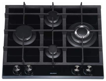 Встраиваемая варочная панель газовая AVEX HM 6045 B Black