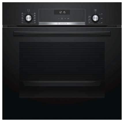 Встраиваемый электрический духовой шкаф Bosch HBJ538YB0R Black