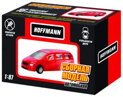 Модели для сборки HOFFMANN Машина красный, черный, прозрачный