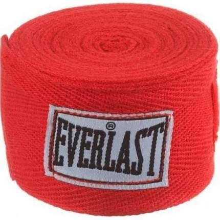Боксерские бинты Everlast 4466RD 3,5 м красные