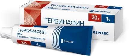 Тербинафин крем 1 % 30 г