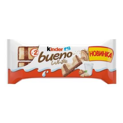 Батончик Kinder киндер буэно в белом шоколаде