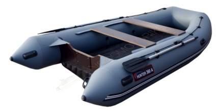 Лодка рыболовная Хантер 360 А серая