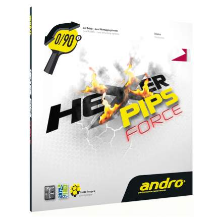 Накладка для ракетки Andro Hexer Pips Force черная 2.1
