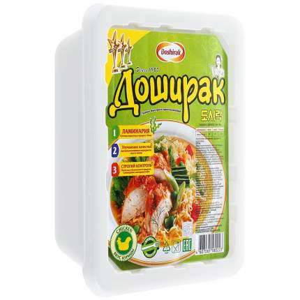 Лапша быстрого приготовления Доширак со вкусом курицы 90 г