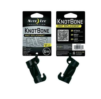 Крепление Nite Ize Knot Bone №6 KB6-02-01 черное