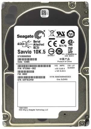 Внутренний жесткий диск Seagate Enterprise Performance 10K 300GB (ST9300605SS)