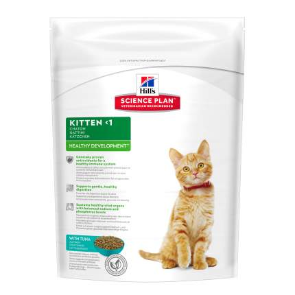 Сухой корм для котят Hill's Science Plan Kitten, тунец, 0,4кг