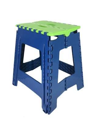Табурет Трикап 100022 салатовый/синий