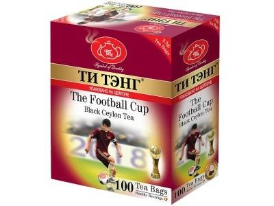 Чай черный в пакетиках для чашки Ти Тэнг The Football Cup 100*2.5 г