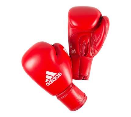 Боксерские перчатки Adidas Aiba красные 10 унций