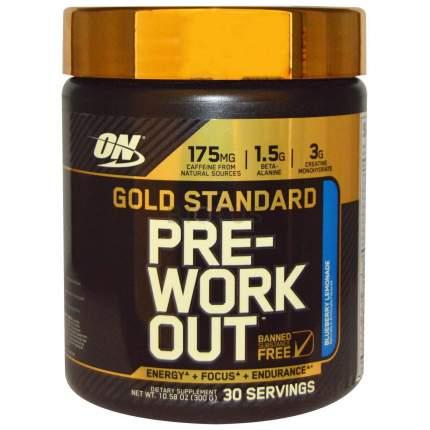Optimum Nutrition Gold Standart Pre-Workout 300 г (вкус: голубика)