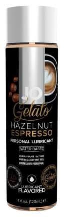 Вкусовой лубрикант на водной основе JO Gelato - Ореховый эспрессо, 120 мл
