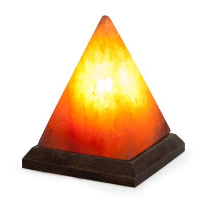 Соляная лампа Пирамида большая с диммером