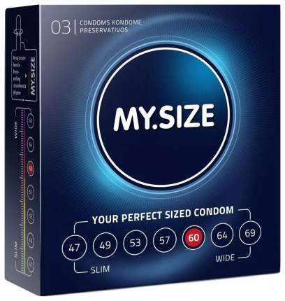 Презервативы My.Size р. 60 3 шт.