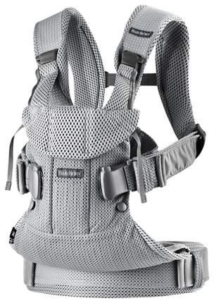 Рюкзак для переноски ребенка BabyBjorn One Mesh Серебряный