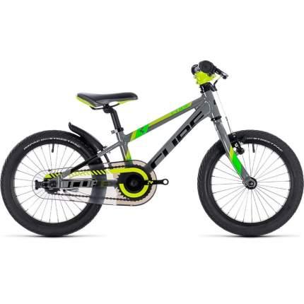 Велосипед CUBE KID 160 grey'n'green'n'kiwi 2019 16' 221100