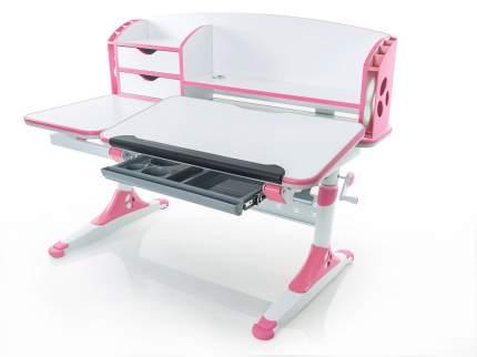 Стол детский Mealux Aivengo-L бело-розовый