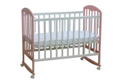Кровать-качалка детская Фея 323 Белая-Магнолия