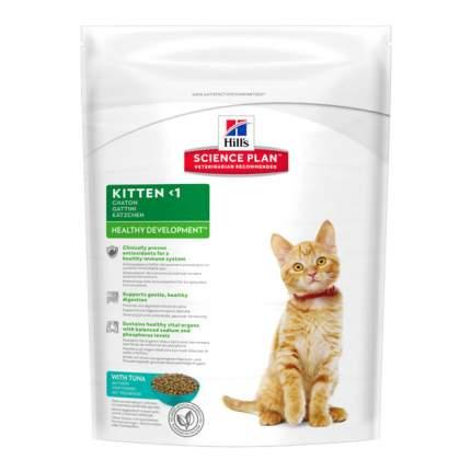 Сухой корм для котят, беременных и кормящих кошек Hill's Science Plan, тунец, 0,4кг