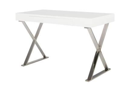 Письменный стол Hoff 80277149, серебристый/белый