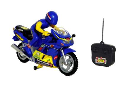 Гонщик на мотоцикле р/у на бат свет 1:7 Play Smart М31173