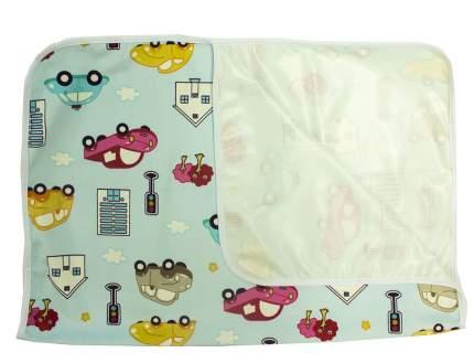 Пеленка непромокаемая для кроватки из ультрасофта, 60х90см