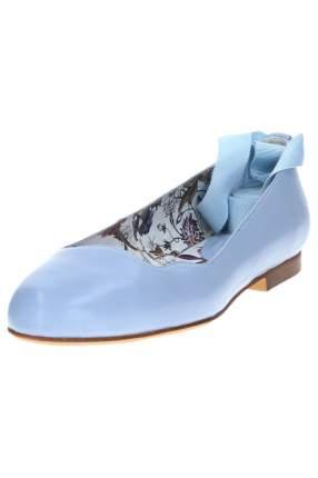 Балетки женские Dino Ricci 299-05-32/89 голубые 36 RU
